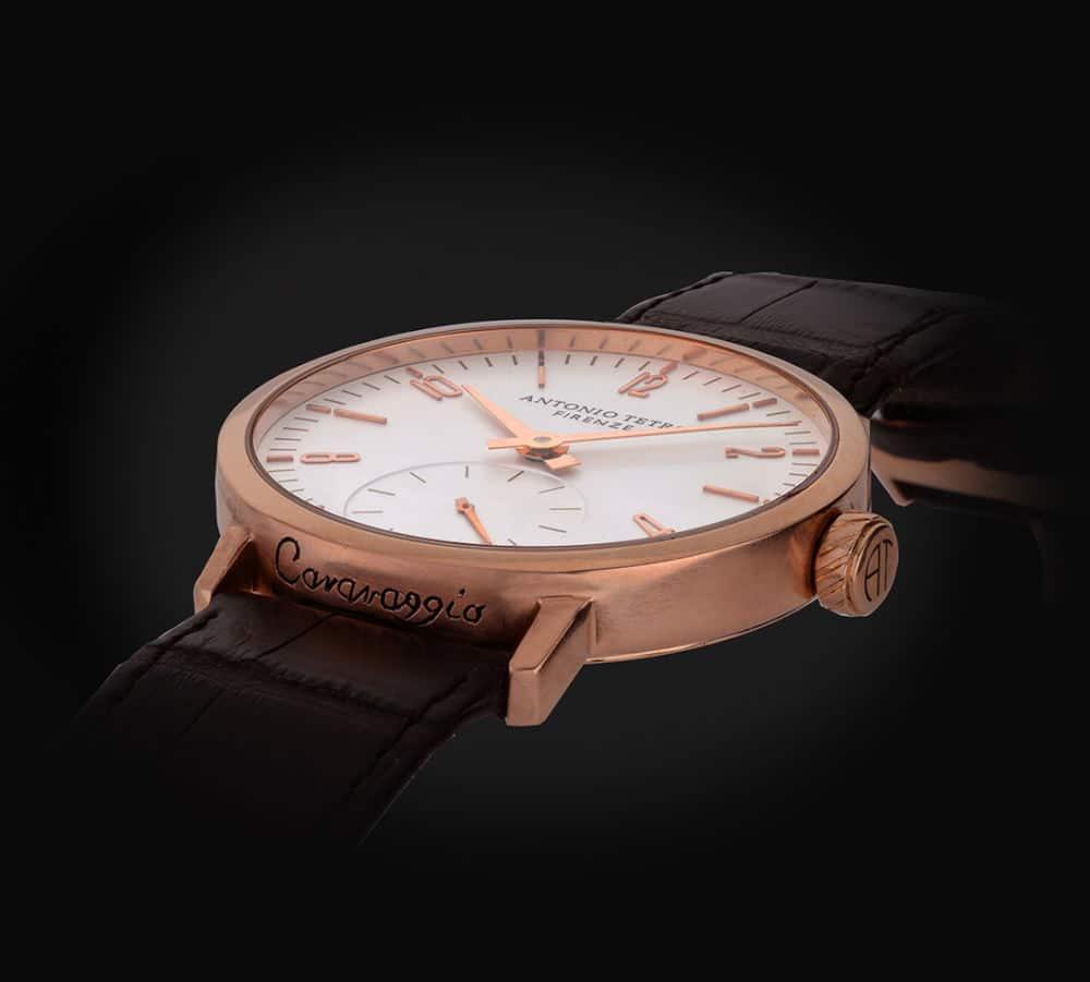 Product Photography of a stylish Italian watch
