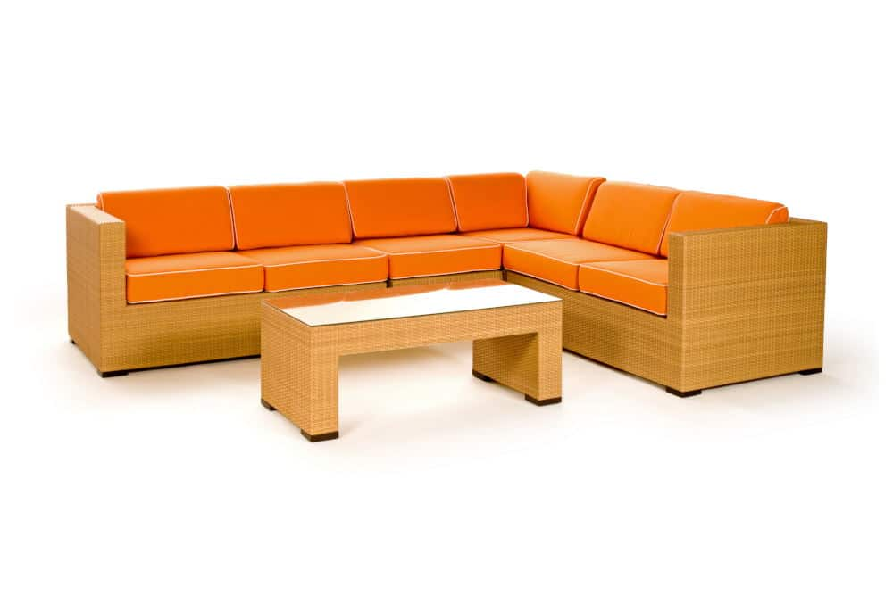 Product Photography an outdoor sectional