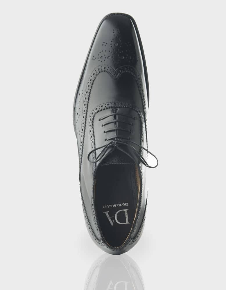 Product Photography of stylish classic design shoe