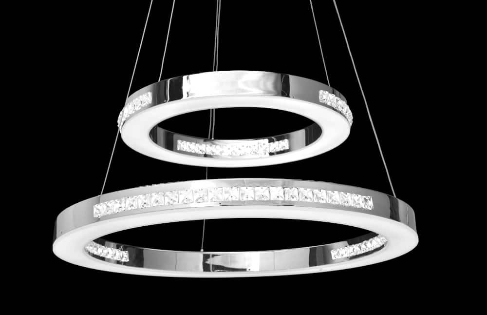 Product Photography of a modern hanging light
