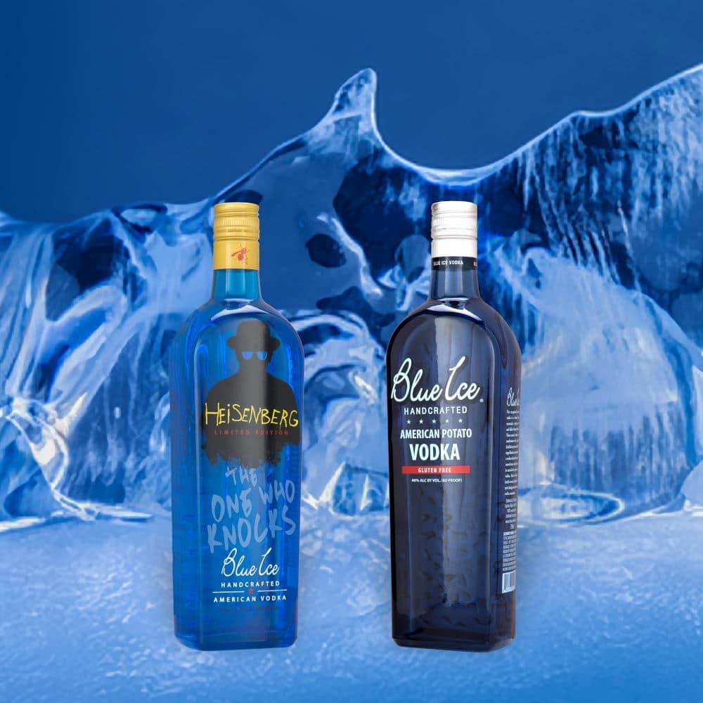 Product Photography Blue Ice Vodka