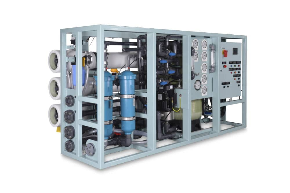 Product Photography of an industrial filtration system