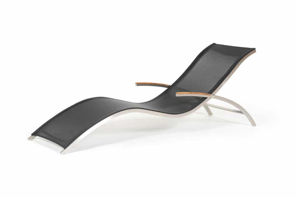 Product Photography of a modern lounge chair