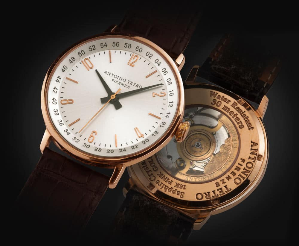 Product Photography of two stylish Italian watches