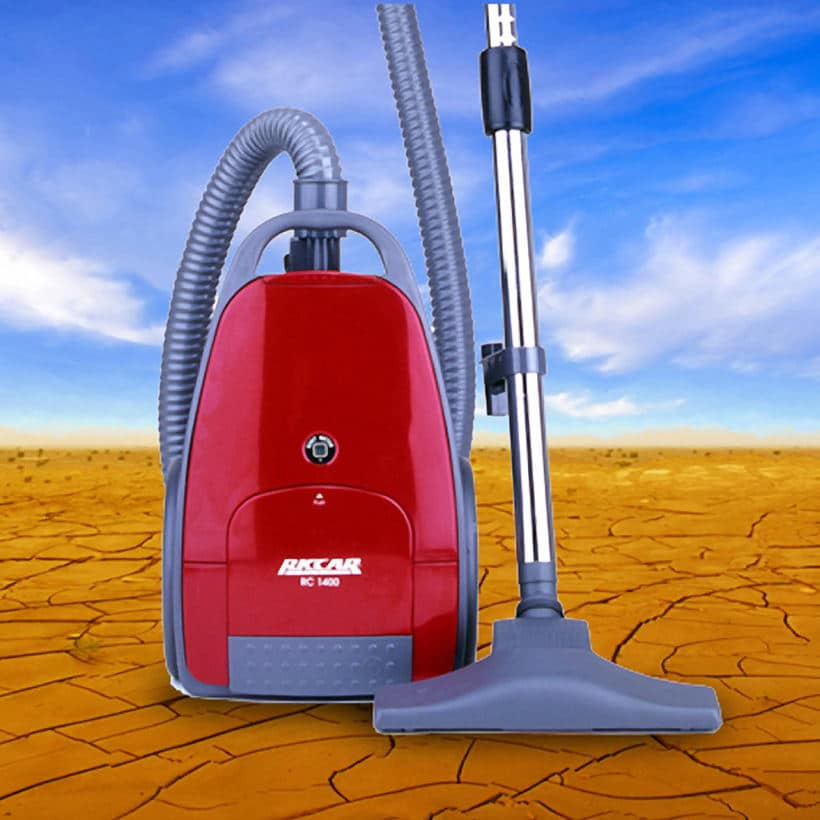 Product Photography of a vacuum cleaner