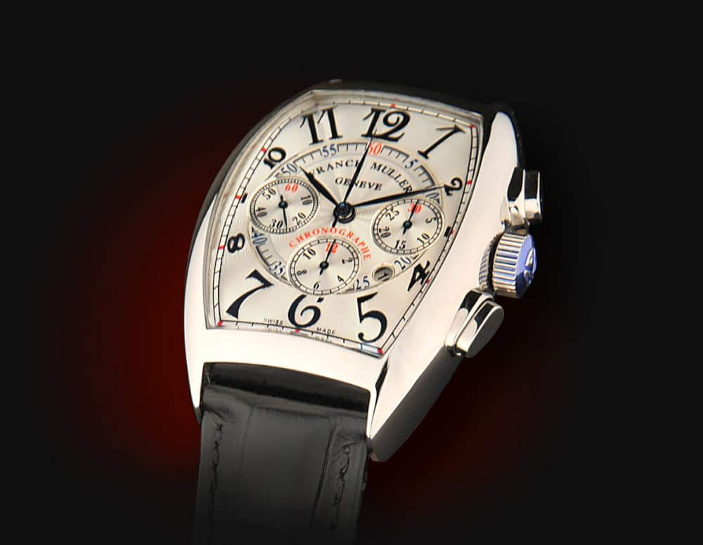 Product Photography of the stylish Franck Muller watches