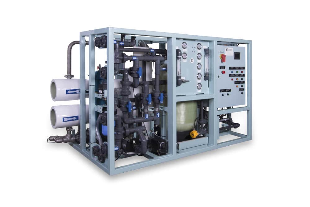 Industrial Photography of filtration equipment
