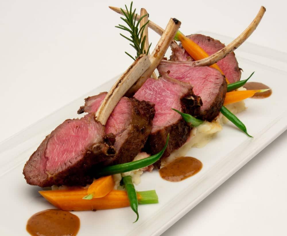 Food Photography lamb shops platter