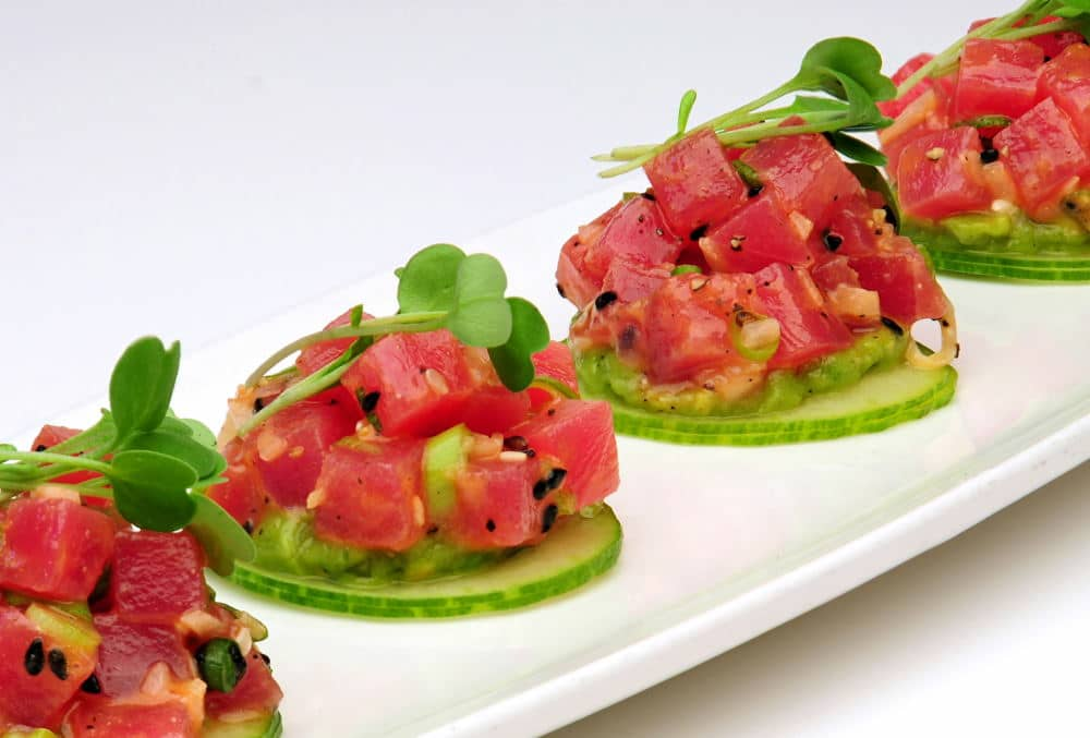 Food Photography of a healthy appetizer