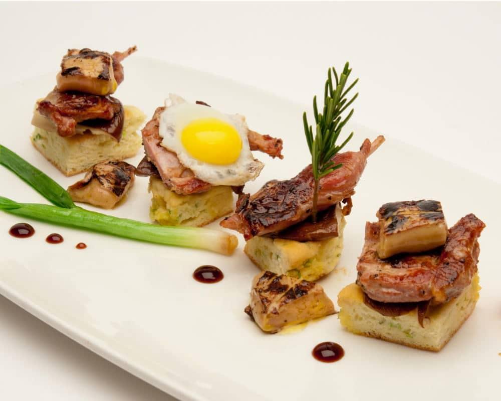 Food Photography a tasty appetizer presentation
