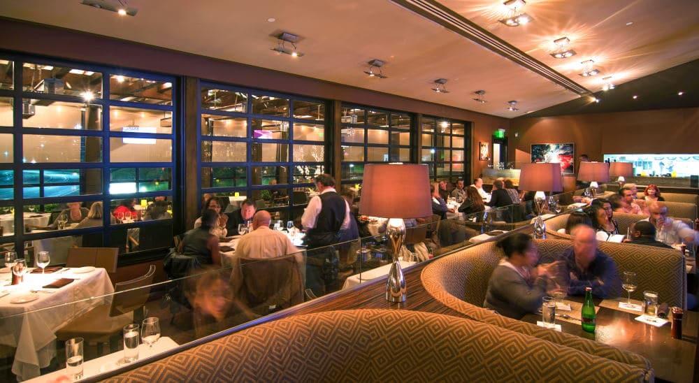 Interior Photography of Bayside restaurant in Newport Beach