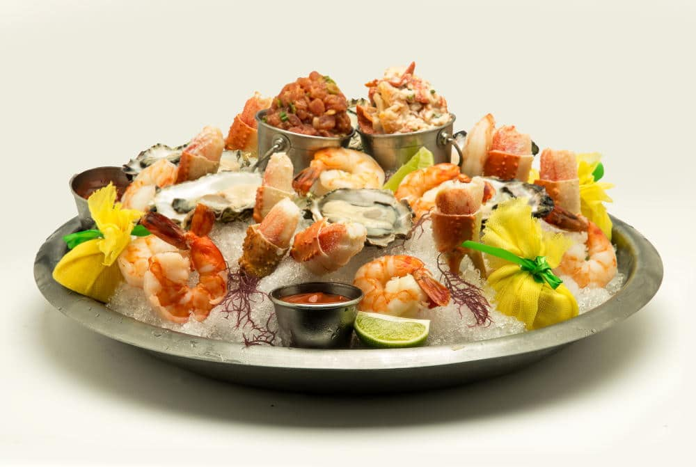 Food Photography of seafood platter