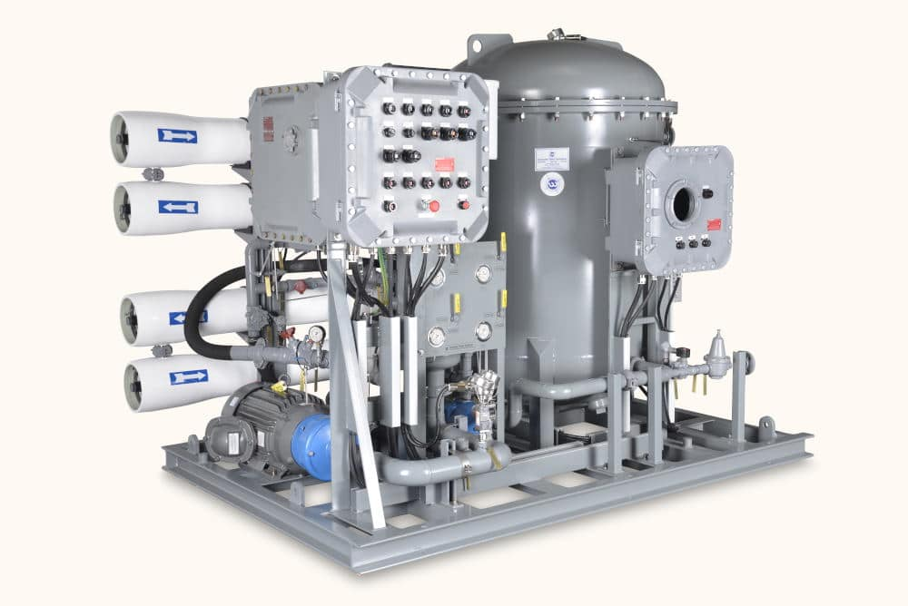 Industrial Photography of water equipment filtration