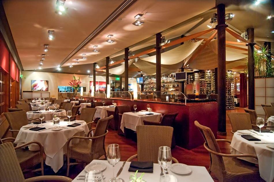 Interior Photography of restaurant in New port Beach