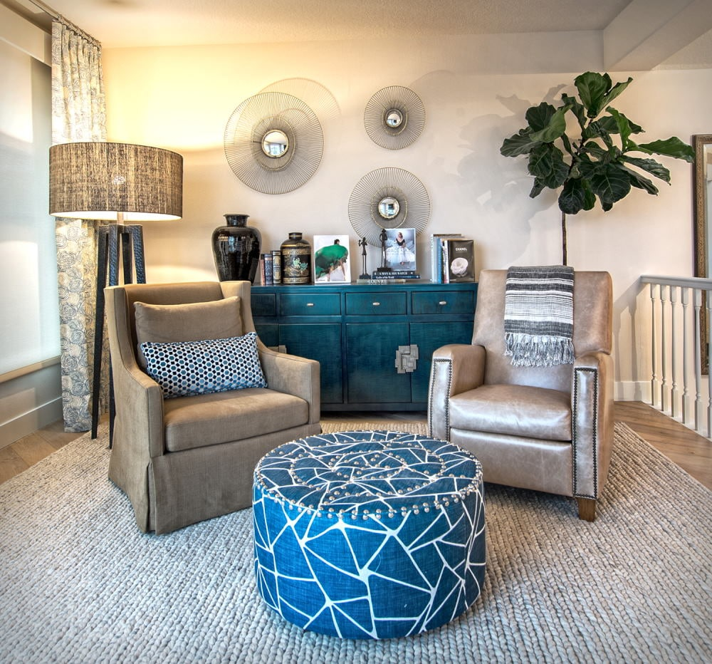 Cozy read room Interior Photography in Dana Point