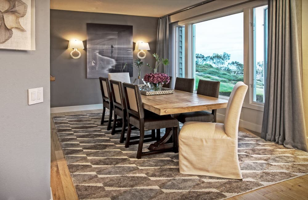 Dining room Interior Photography in Dana Point