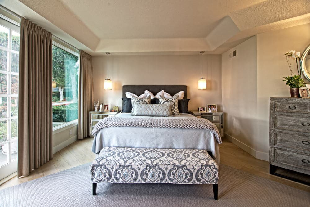 Beach style bed room Interior Photography in Dana Point
