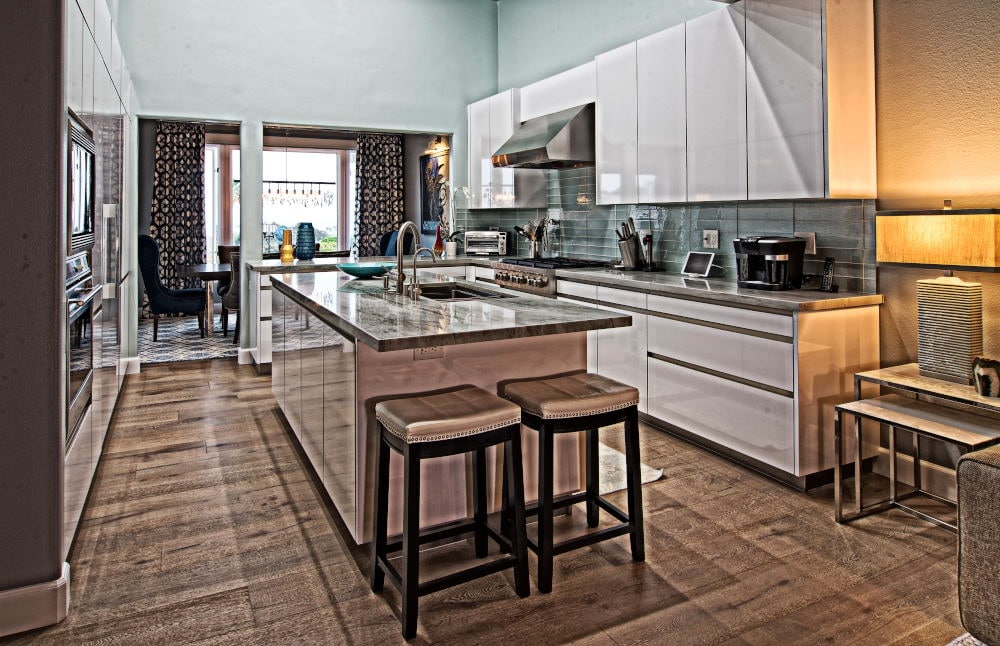 Interior Photography of a kitchen in Dana Point