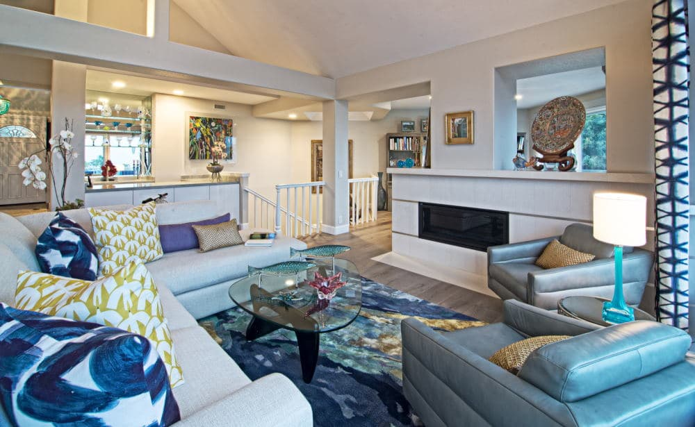 Interior Photography of a living room in Dana Point