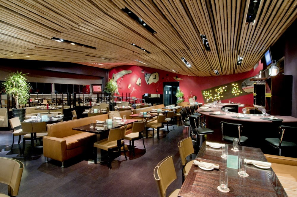 in Newport Beach Interior Photography of a restaurant