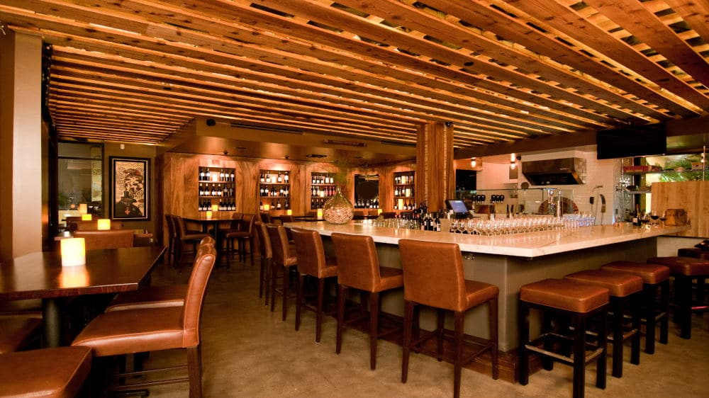 Interiors Photography of a the Winery in Laguna Beach