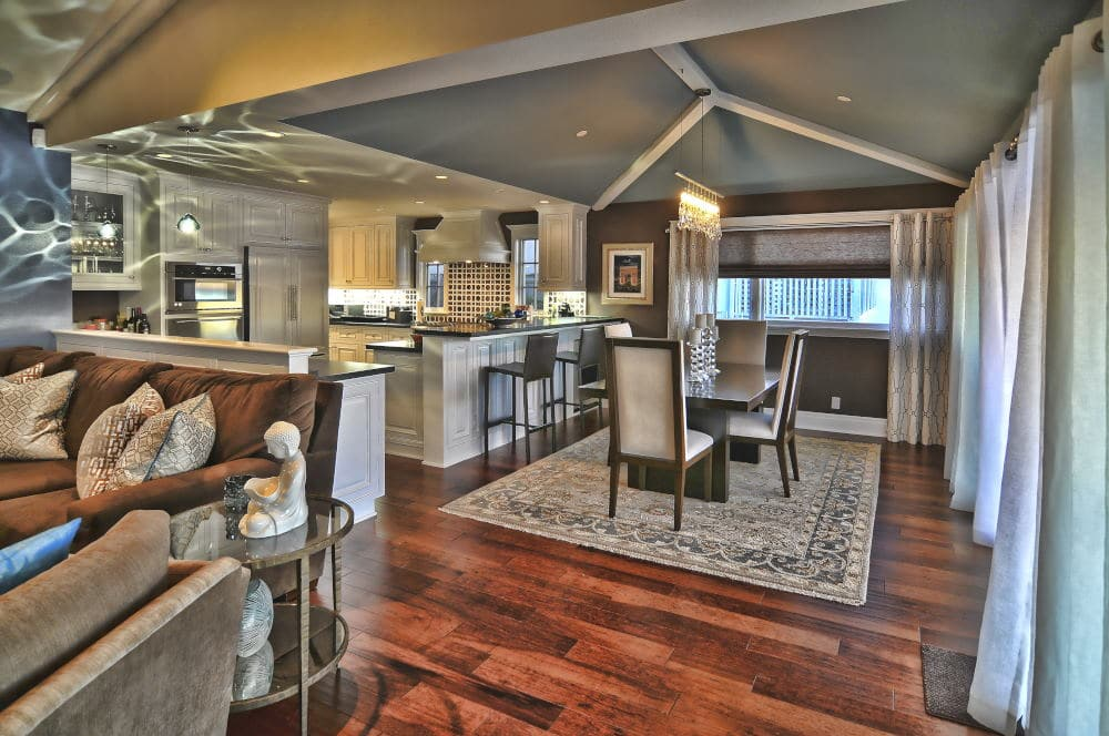 Interior Photography in Dan Point of a dining room