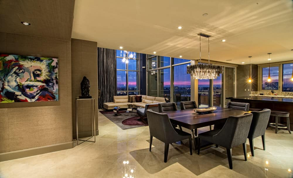 Interior Photography of a Penthouse in Irvine
