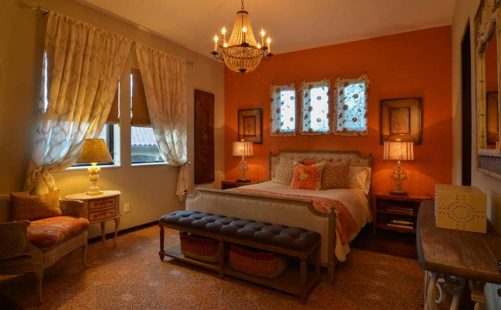 Guest Bedroom Interior Photography in Sonoma