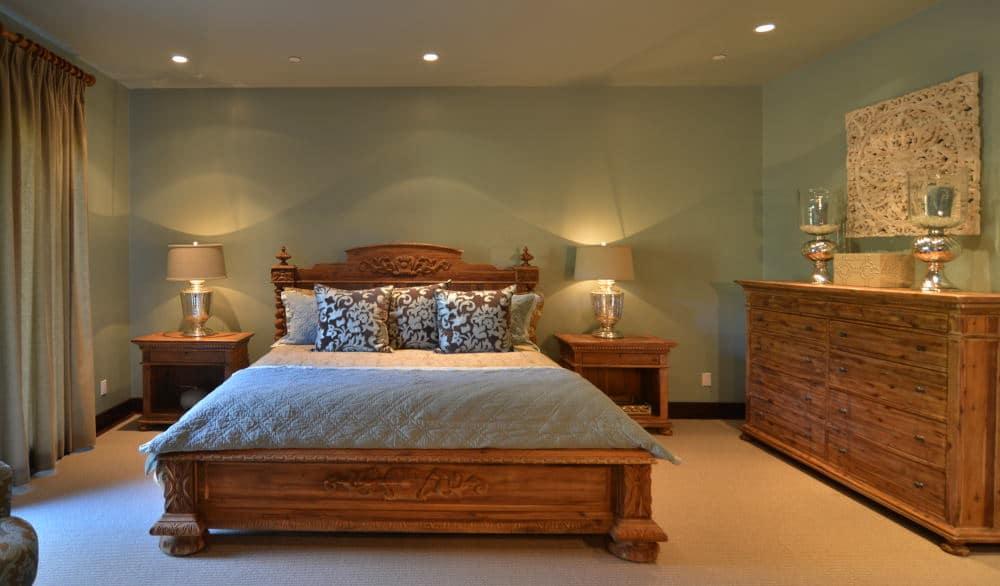 Master Bedroom Interior Photography in Sonoma