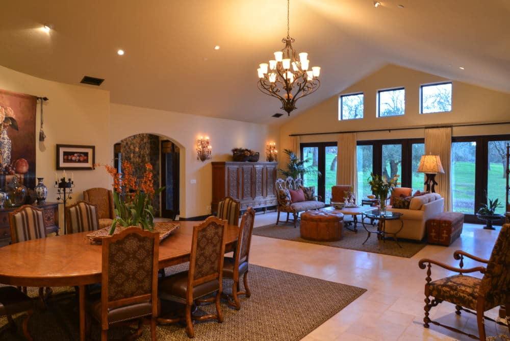 Grand room Interior Photography in Sonoma