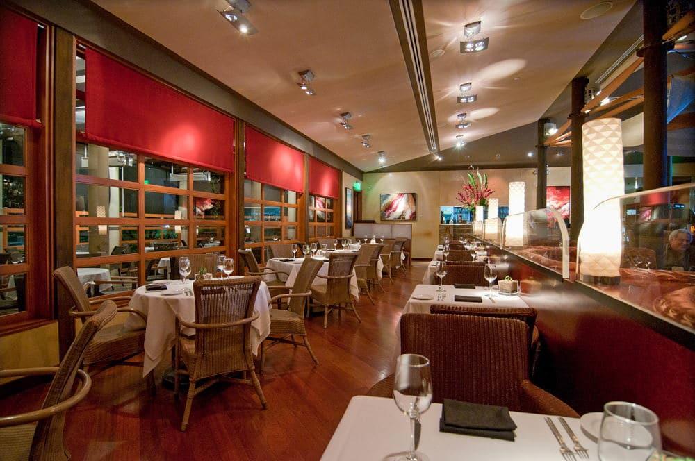 Interior Photography of a restaurant in Newport Beach